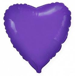№18 Сердце,звезда,круг б/рис.Фиолетовый