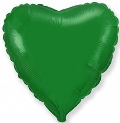 №18 Сердце,звезда,круг б/рис.Зеленый