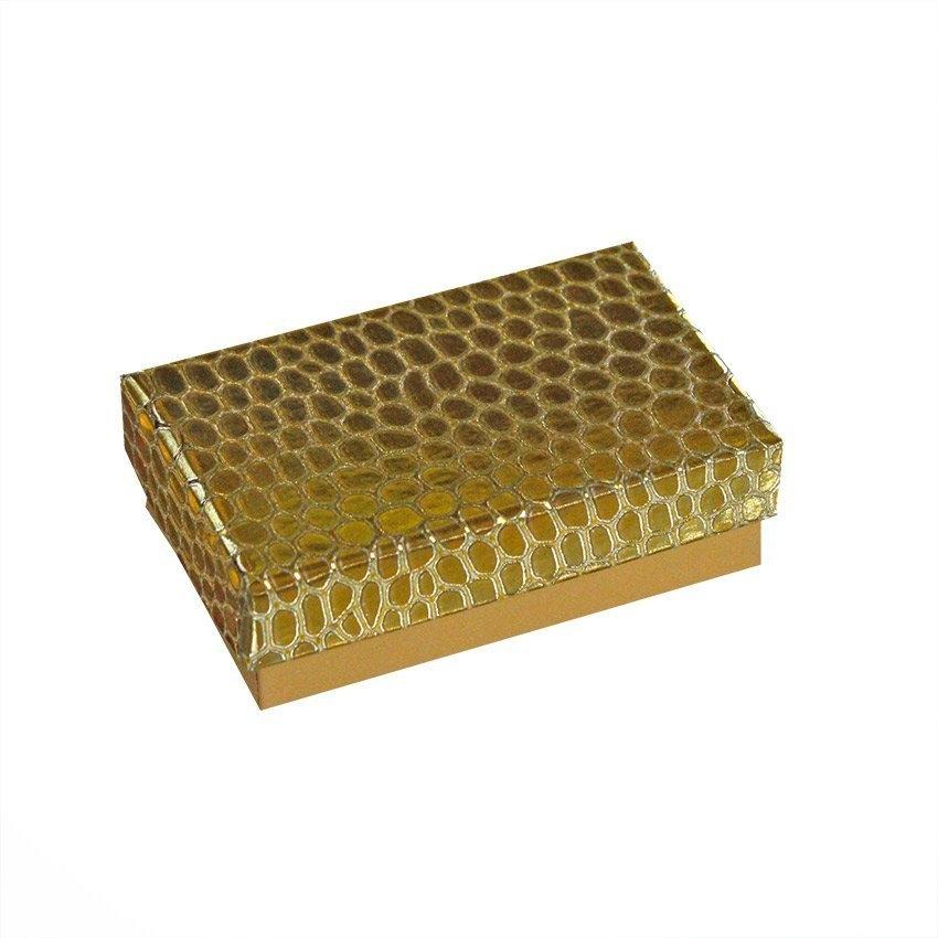 Коробка ювелир. Глиттер под кожу 5*8*2,5  (цветв в ассортименте)