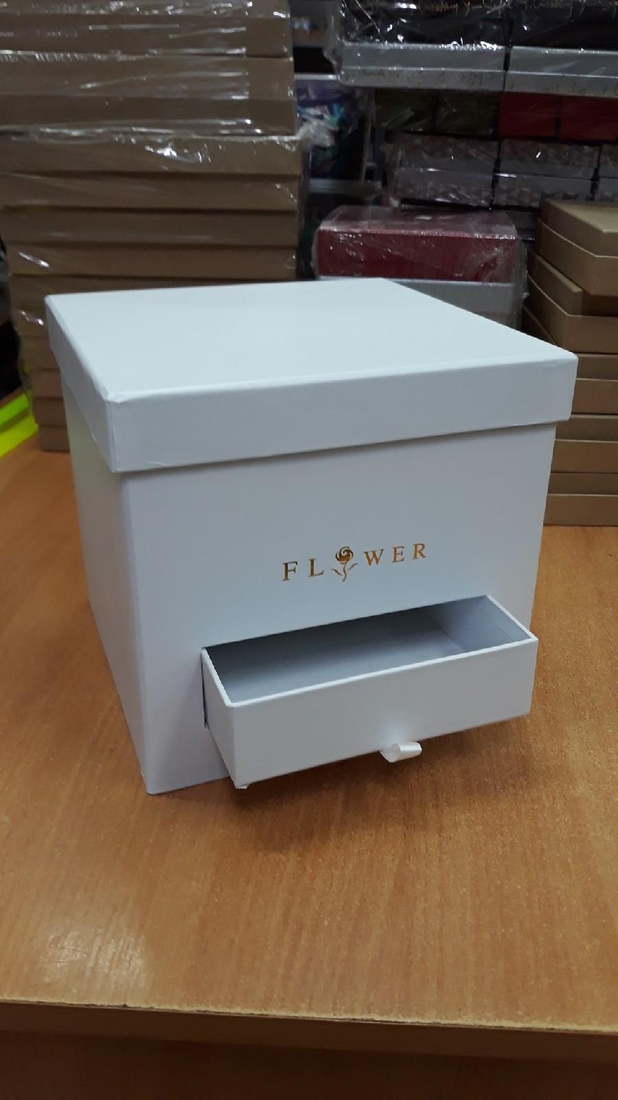 Коробка под цветы Шкафчик в ассортименте