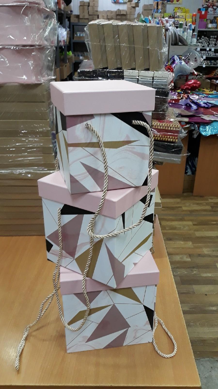 810517--520 набор коробок 3/1 30*20*14 прям