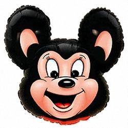 Могучая мышь, Черный, 1 шт.