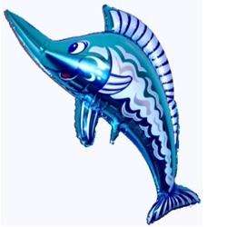 Рыба-меч синий цвет