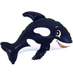 Веселый кит, Черный