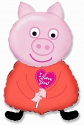 , Поросенок с сердцем, Розовый