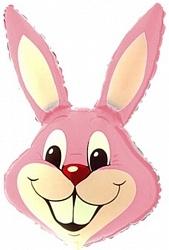 Заяц, Розовый, 1