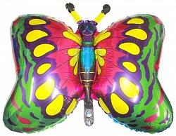 Бабочка, Зеленый, 1 шт.