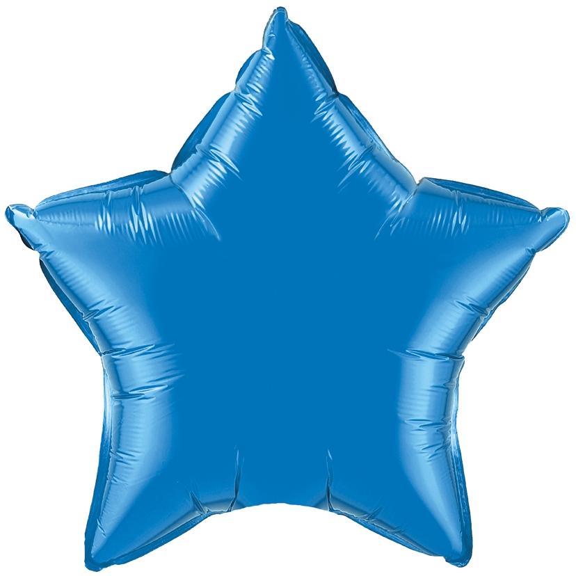 №18 Звезда,сердце,круг б/рис. Синий