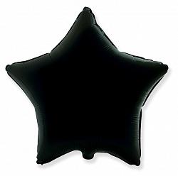 №18 Звезда,сердце,круг б/рис.Черный