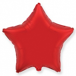 №18 Звезда,сердце,круг б/рис.Красный