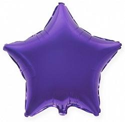 №18 Звезда,сердце,круг б/рис.Фиолетовый