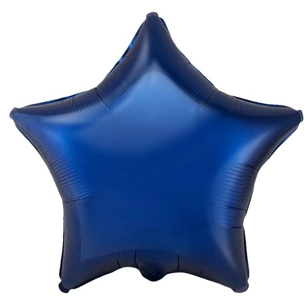 №18 Звезда,сердце,круг б/рис.Тёмно-синий