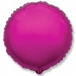 №18 Круг,сердце,звезда б/рис.Пурпурный