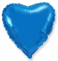 №18 Сердце,звезда,круг б/рис. Синий