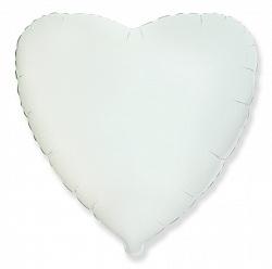 №18 Сердце,звезда,круг б/рис.Белый