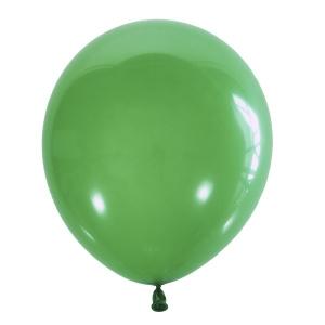 ШАР M 12/30см Пастель DARK GREEN (темно зеленый) 009 (100шт,уп,)