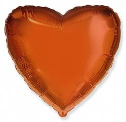№18 Сердце,звезда,круг б/рис. Оранжевый
