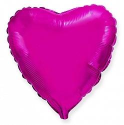 №18 Сердце,звезда,круг б/рис.Пурпурный