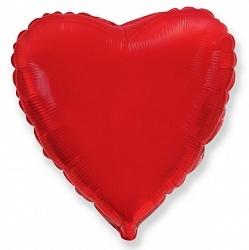 №18 Сердце,звезда,круг б/рис.Красный.